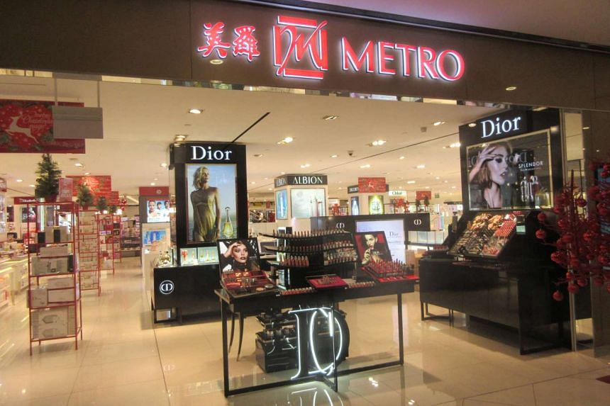 Retailer, property and investment group Metro Holdings reported a fourth-quarter net profit of S$34.2 million compared to S$1.2 million for the year-ago.