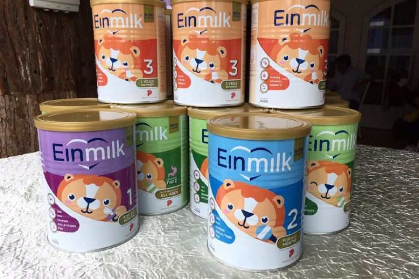 Einmilk is a new range of affordable, quality infant formula milk powders formulated and manufactured in Singapore.