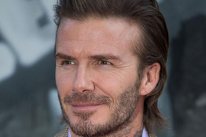 Football star David Beckham plays with Lego bricks to control stress.