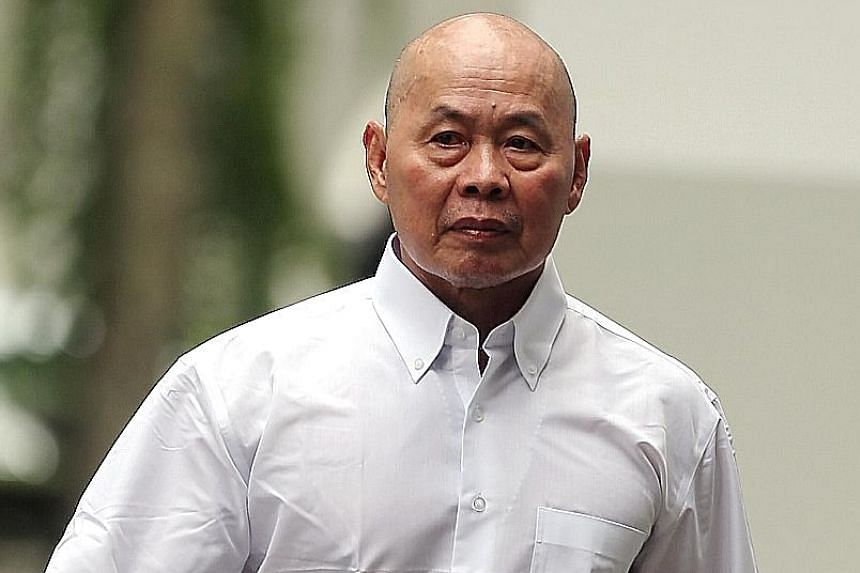 Yue Kim Ming allegedly endangered the safety of others by running a red light on his e-bike on May 18.