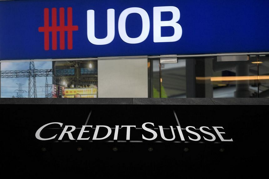 United Overseas Bank (UOB) and Credit Suisse were fined S$900,000 and S$700,000 respectively.