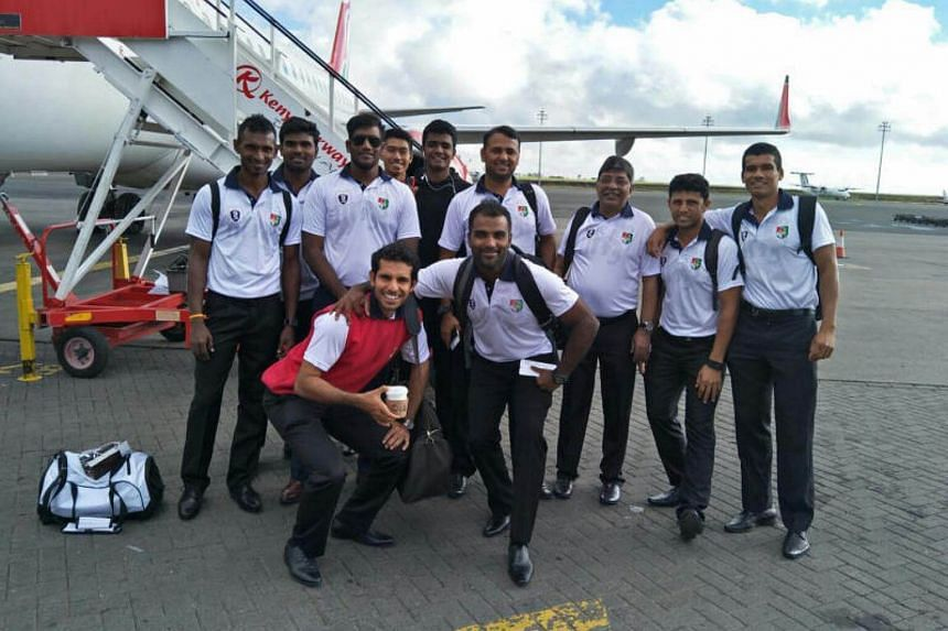 Singapore's cricket players arriving in Kenya for warm-up matches ahead of their World Cricket League Division 3 (WCL 3) campaign in Uganda.