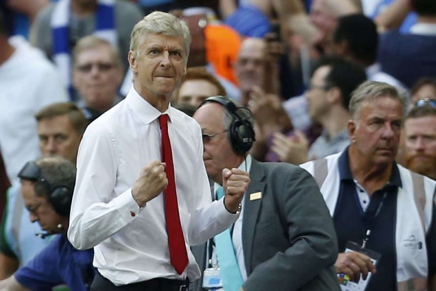 Arsene Wenger's contract was due to end at the conclusion of the current season.