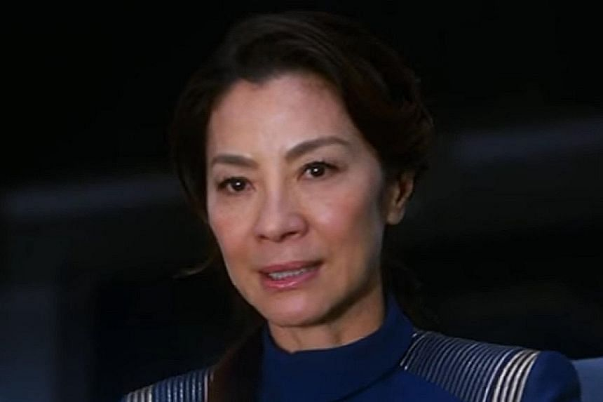 Michelle Yeoh plays a high-ranking officer in Star Trek: Discovery.