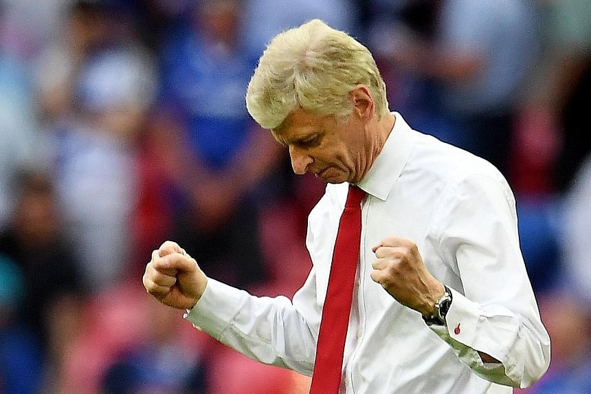 Arsene Wenger was widely pilloried over Arsenal's travails in the league, but the FA Cup win against Chelsea has brought him a two-year contract extension.
