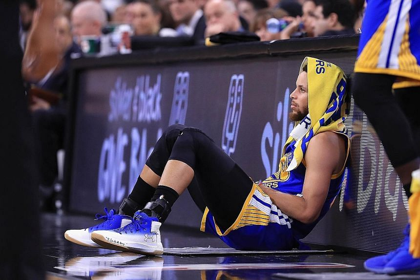 Warriors guard Stephen Curry and his team-mates have been recuperating ahead of the NBA Finals but the extended break could be a double-edged sword.