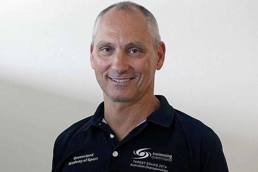 Swiss-born Stephan Widmer has achieved great success in grooming world-class Australian swimmers and wants to develop more top-echelon talent in Singapore.