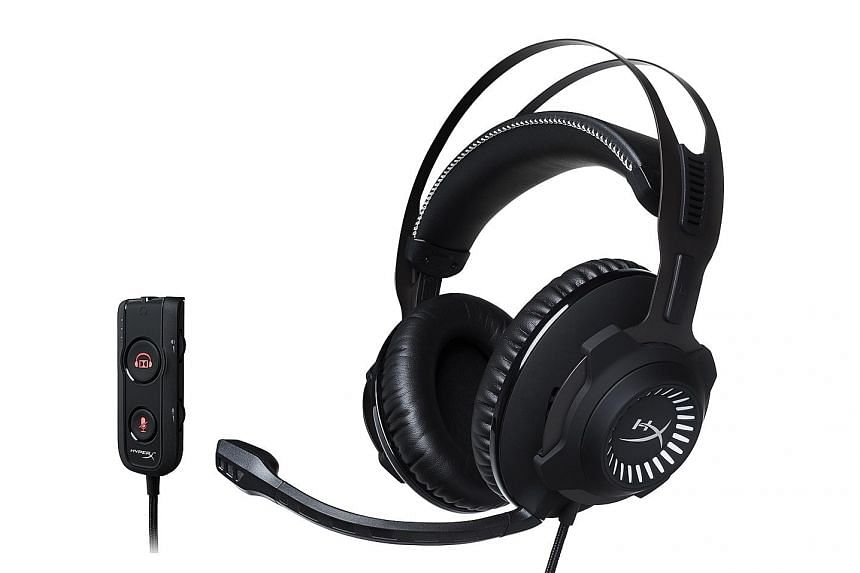 The HyperX Cloud Revolver S gaming headset is sleek but does not come cheap.