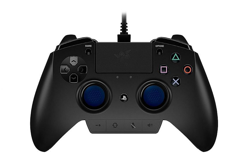 The Raiju professional controller for the PlayStation 4 has the features of Razer's mechanical keyboards and Sony's button-and-joystick layout.
