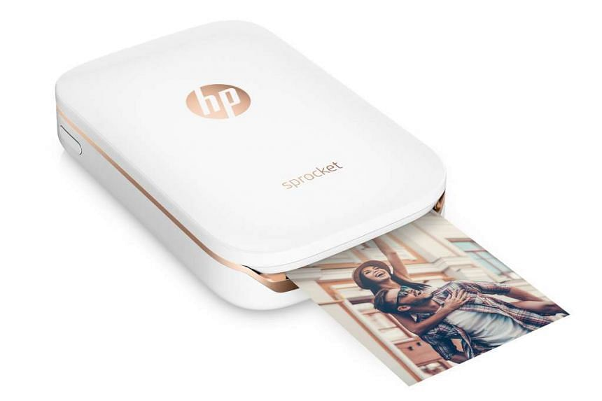 The $199 HP Sprocket is a pocket-sized printer that prints stickable photos from your smartphone.
