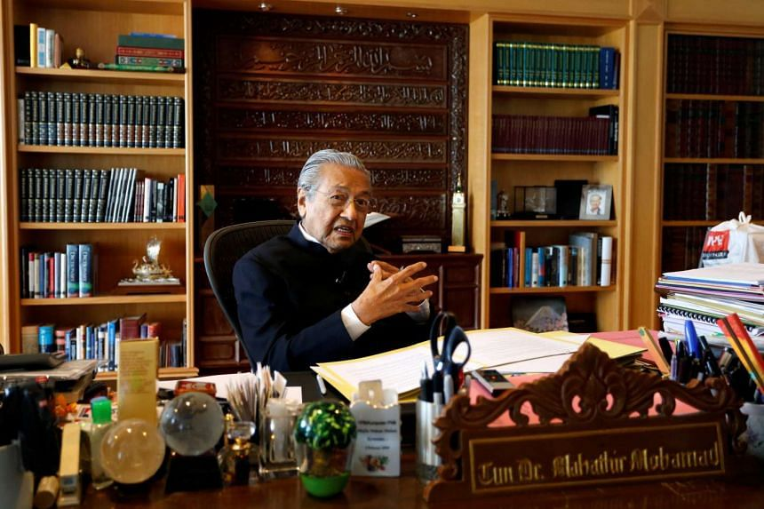 Dr Mahathir reminded viewers that he had said he would not become prime minister again once he had retired in 2003.