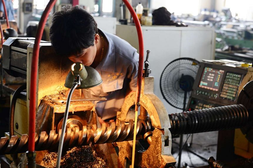 The Caixin Media and Markit Economics manufacturing PMI fell to 49.6 from 50.3 in April.