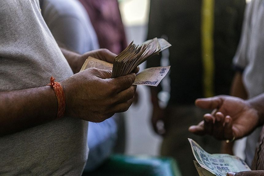 At 6.1 per cent, India's annual GDP growth for the first three months of this year has been dragged down by Prime Minister Narendra Modi's cash ban in November and the weight of the country's bad bank debts.