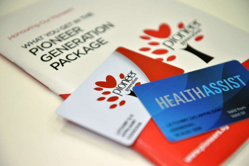 The Pioneer Generation cards with an information booklet on the Pioneer Generation Package.