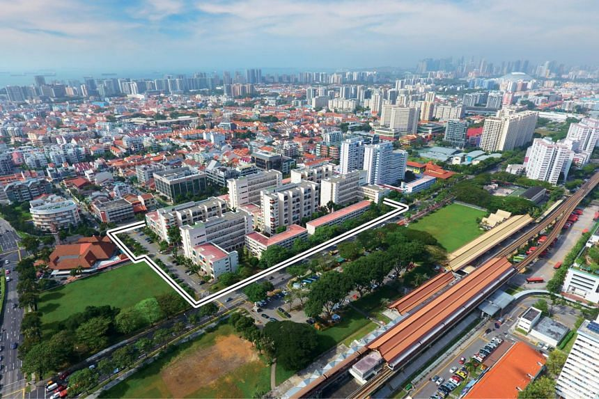 The 330-unit Eunosville comprises 255 maisonettes over six residential blocks and four walk-up apartment blocks with 75 units.