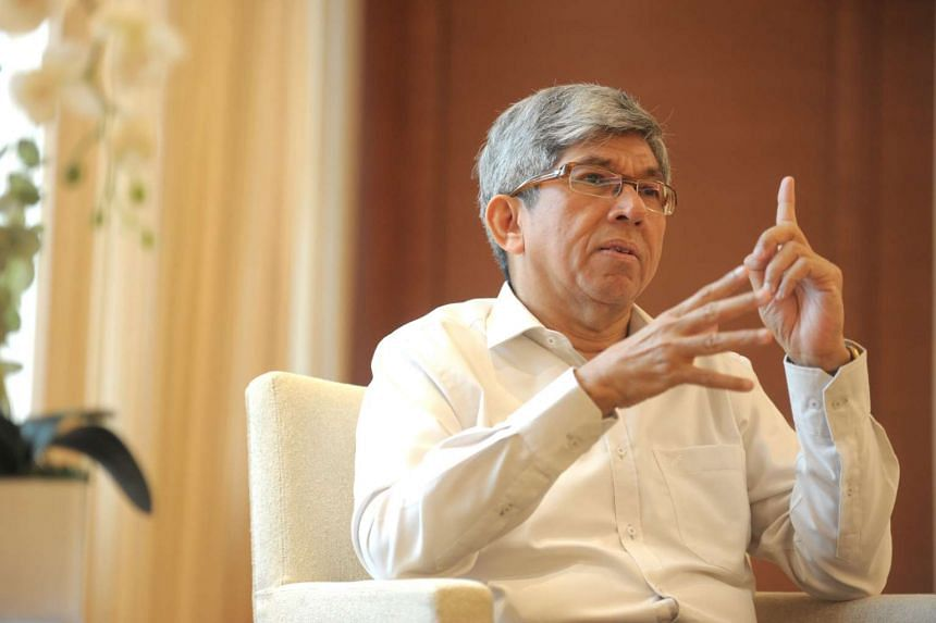 "Minister for Communications and Information Yaacob Ibrahim said aspiring candidates have to ""continue to carry the ethos of multiracialism""."