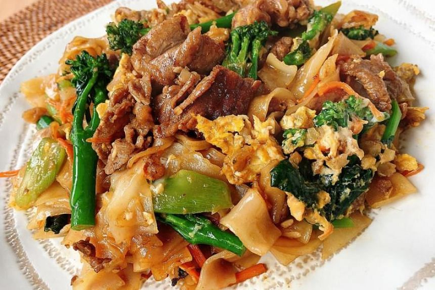 Pad See Ew is a Thai-style fried kway teow that does not require much fuss to whip up.