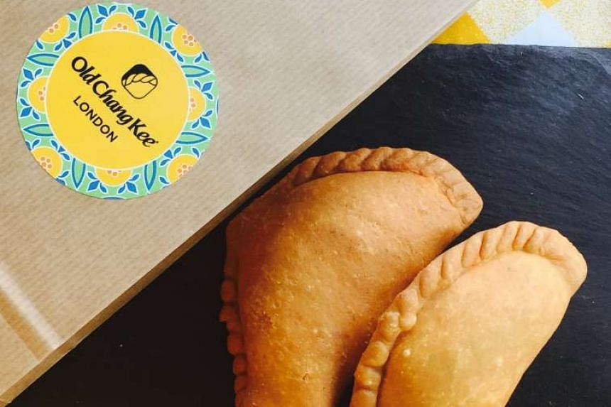 At a recent Old Chang Kee pop-up event in London, 1,200 curry puffs sold out quickly. PHOTO: SANDRA LEONG
