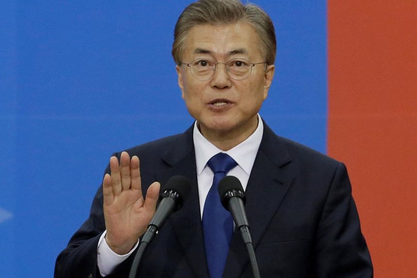 South Korean President Moon Jae In  had pledged during the recent election campaign that he would review the decision to deploy Thaad.