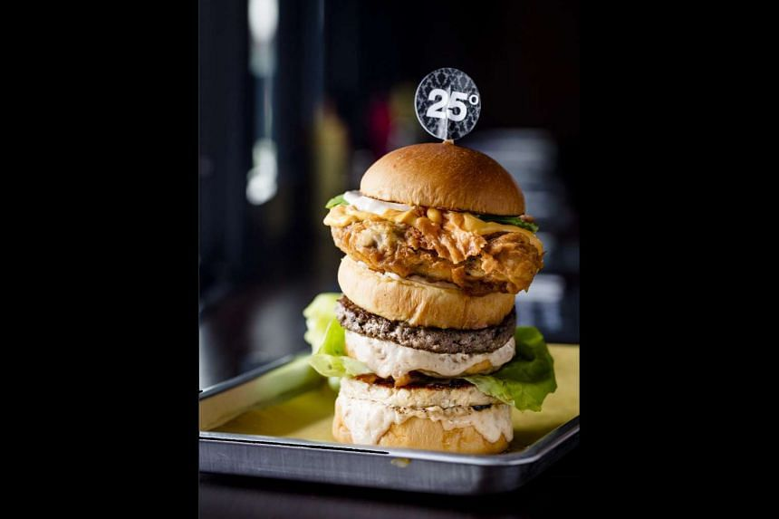 Ultimate Burger at 25 Degrees.