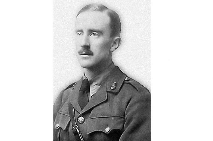 Lord Of The Rings author J. R. R. Tolkien in 1916.