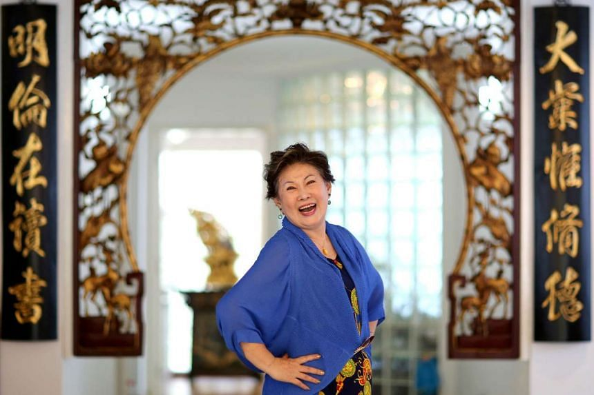 Jin Yinji, 70, left Mediacorp three months ago, after three decades. PHOTO: ZB