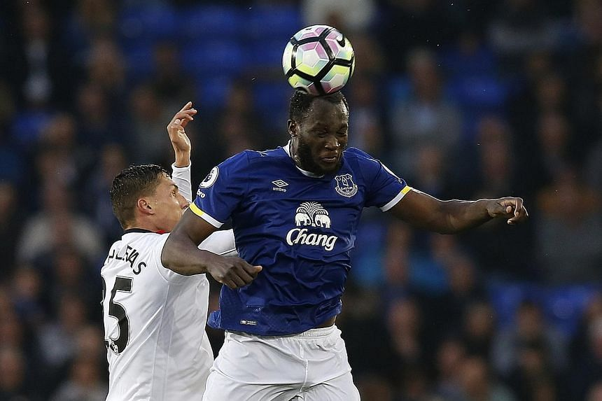 Romelu Lukaku's stock has risen after scoring 25 league goals for Everton in the just-concluded season.