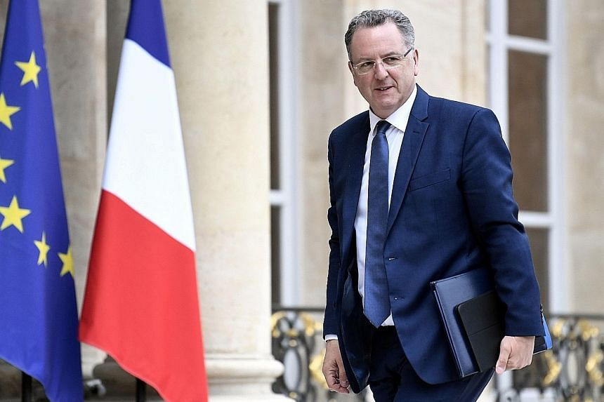 French Territorial Cohesion Minister Richard Ferrand denies any wrongdoing after a newspaper said a medical insurance fund he headed in Brittany agreed in 2011 to rent a building from his wife.