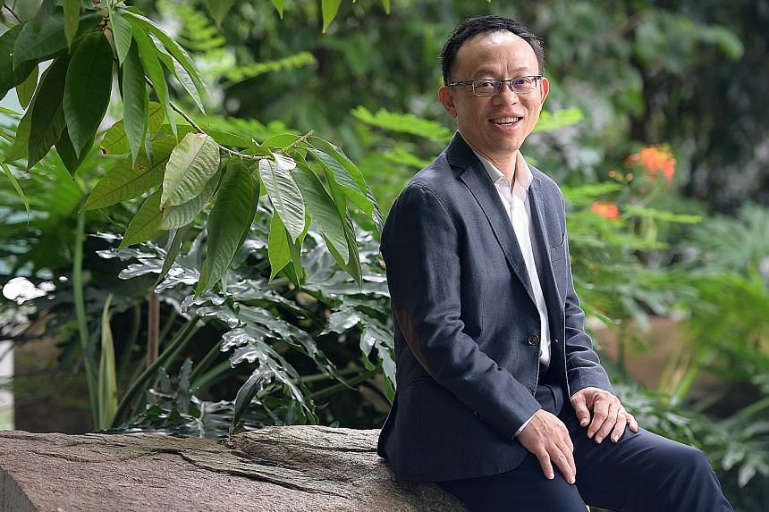"""""""Social impact is something I feel very passionate about,"""" said Mr Tony Tan, who feels his more than seven years at social enterprise NTUC Link would come in handy."""