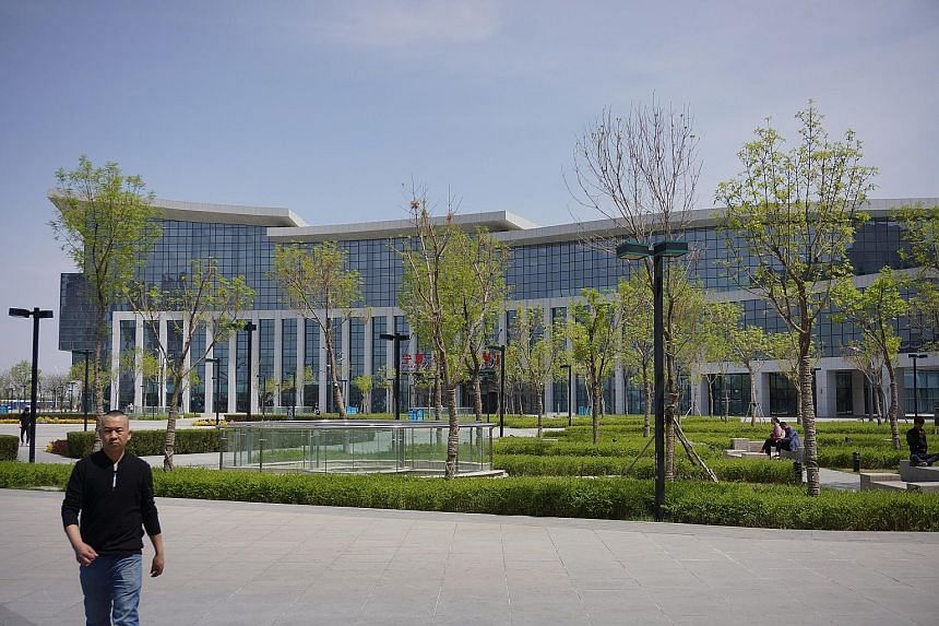 A key part of Yinchuan's smart city plan is a one-stop government hub for residents consisting of a Citizens' Hall, an operations command centre and a call centre, all surrounding a park.