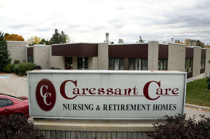 The Caressant Care Woodstock Long Term Care Home, where police accuse nurse Elizabeth Wettlaufer of killing elderly patients.