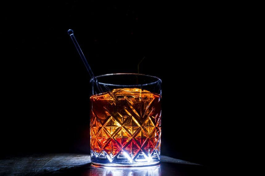 The mezcal negroni at Ghost Donkey, a mezcal bar in New York. PHOTO: NYTIMES