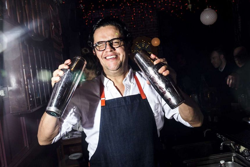 The bartender Nacho Jimenez at Ghost Donkey, a mezcal bar in New York. Barely a month passes without a new mezcal bar opening in some American city. PHOTO: NYTIMES
