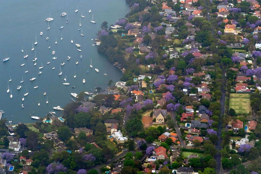 Properties in areas like Hunters Hill (above), a suburb that boasts views of Sydney Harbour, have been popular with foreign buyers. However, potential home owners might be put off by upcoming tax changes in New South Wales, which plans to raise a sur