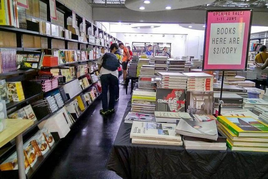 Page One's new store at The Cathay sells new books from as little as $1.