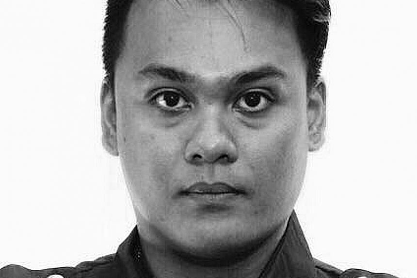 Staff Sergeant Nadzrie Matin was involved in an accident along Serangoon Road.