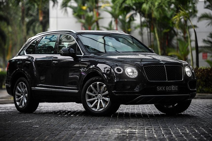 The Bentley Bentayga is the first Bentley to have a turbodiesel and seven seats.