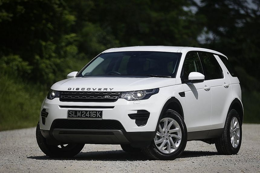 The Land Rover Discovery Sport TD4 is 40 per cent more fuel-efficient than one with a petrol engine of a similar displacement.