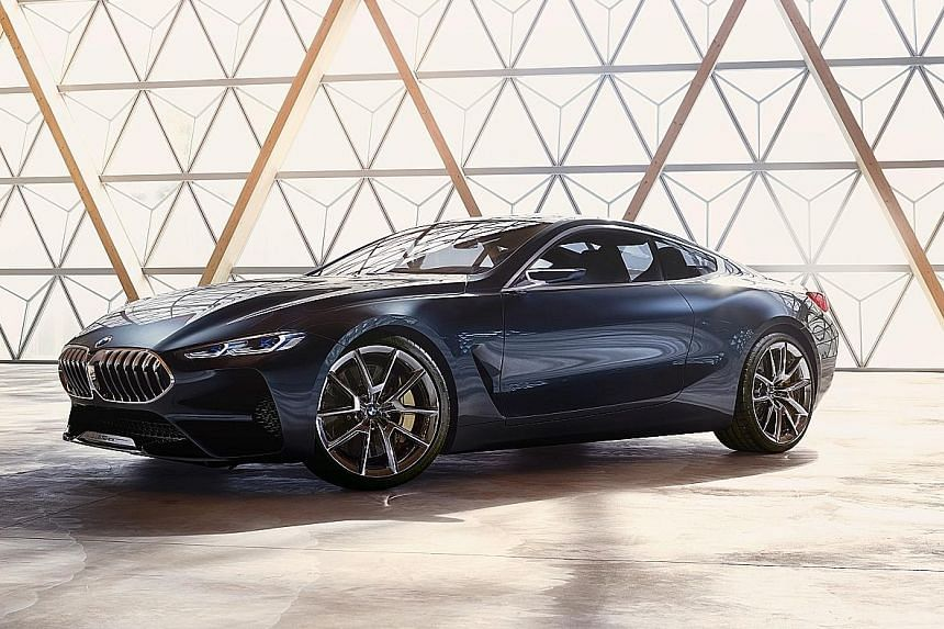 BMW 8-series to launch next year.