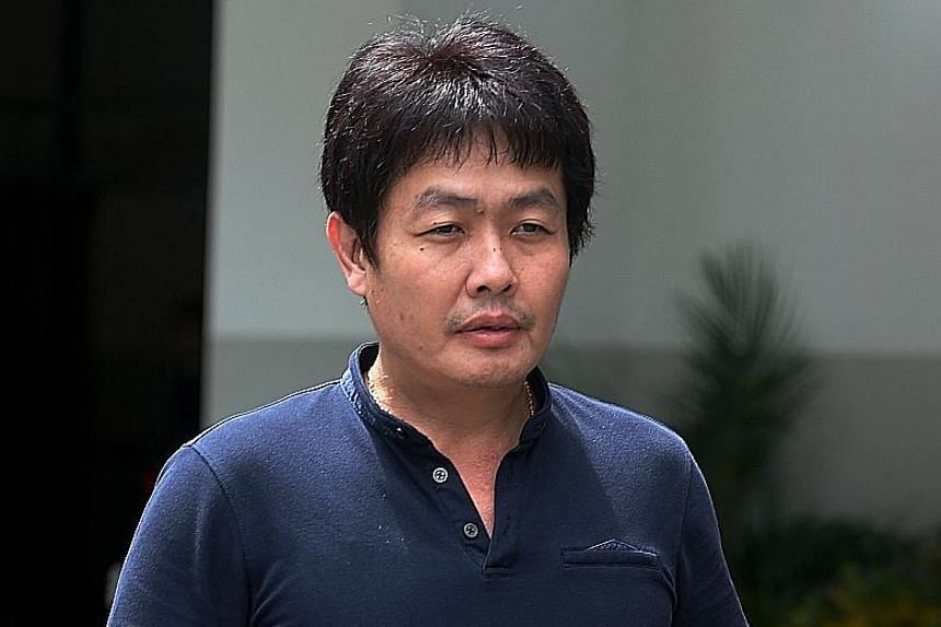 Ang Sim Poh was charged in court yesterday with committing a rash act.