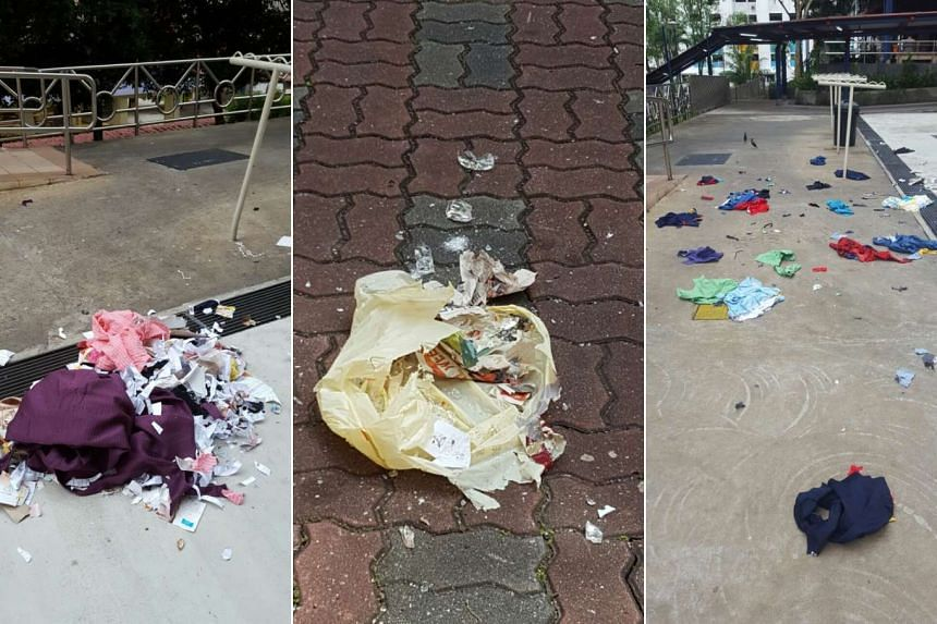 A 71-year-old woman has been arrested in relation to a case of killer litter at Jalan Bukit Merah.