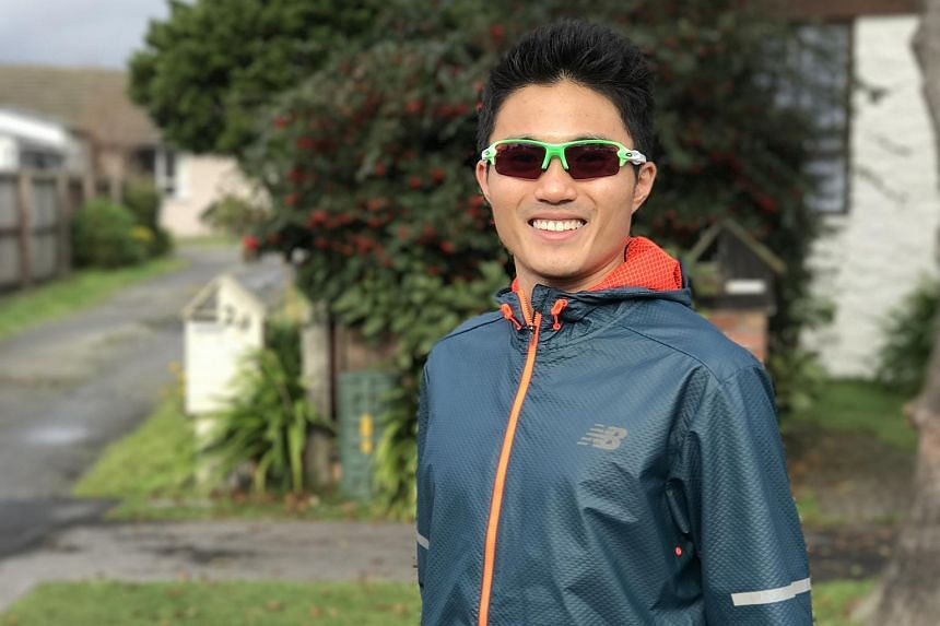 Singapore runner Mok Ying Ren finished the Christchurch half-marathon with a time of 1hr 11min 34sec. It is off his personal best of 1:07:08 clocked in January 2016.