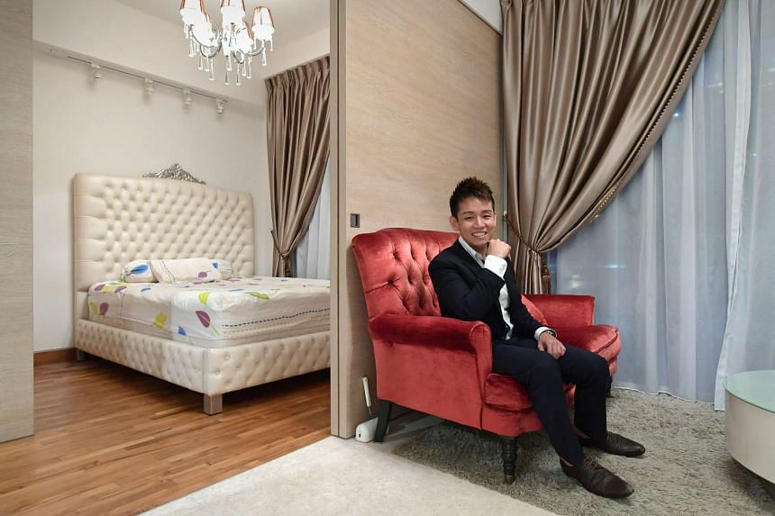 Suite Hut founder Jay Tay, who is a bachelor, bought a 484 sq ft one-bedroom apartment at Sennett Residences in Potong Pasir for $700,000 in 2013. He also bought a 422 sq ft unit in Melaka for $136,000.