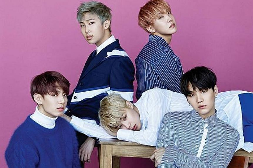 Boyband BTS recently became the first K-pop group to win a prestigious Billboard music award for Top Social Artist.