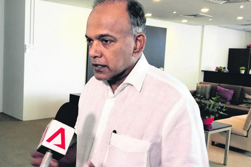 "Mr K. Shanmugam urged the community to participate in SGSecure, which aims to prepare people to respond to a terror attack. ""Understand the Run, Hide, Tell message. Volunteer, get trained to save yourself, save your family and come together,"" he said"