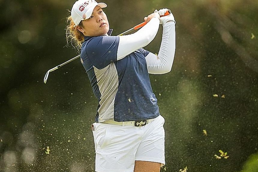 Ariya Jutanugarn, 2016 LPGA Player of the Year, in the Volunteers of America Texas Shootout in April where she tied for ninth.