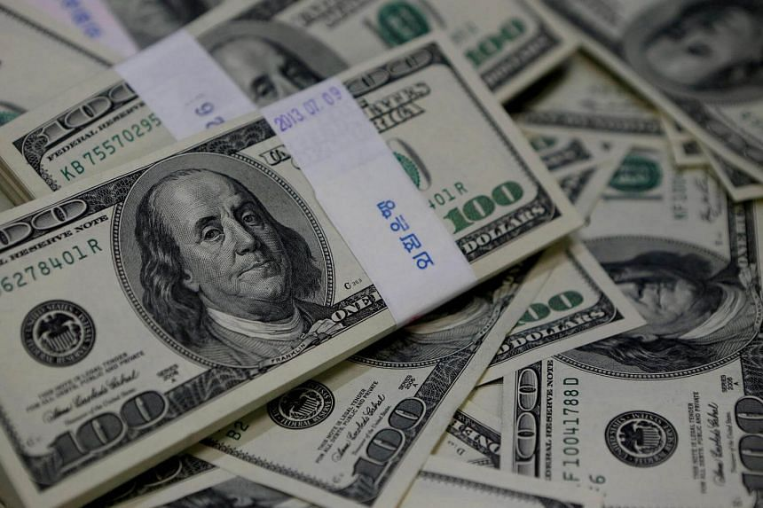 The dollar index, which tracks the greenback against a basket of six major peers, hit its lowest level since the November election on Monday.