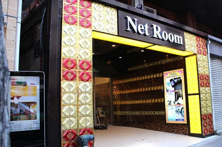 Japanese internet cafes have been turned into into affordable hotels with amenities such as beds.