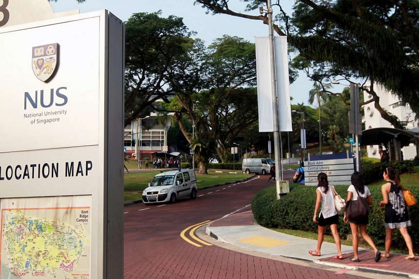 The National University of Singapore (NUS) campus.
