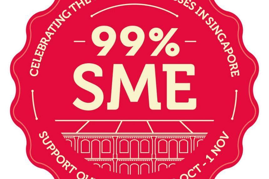 Logo of 99% SME campaign.